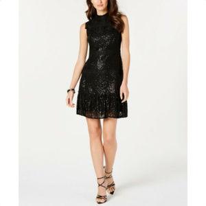 JULIA JORDAN Sequin Lace Cocktail Party Dress, NwT